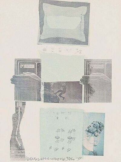 Robert Rauschenberg, 'Three Reasons Birds Sing', 1979