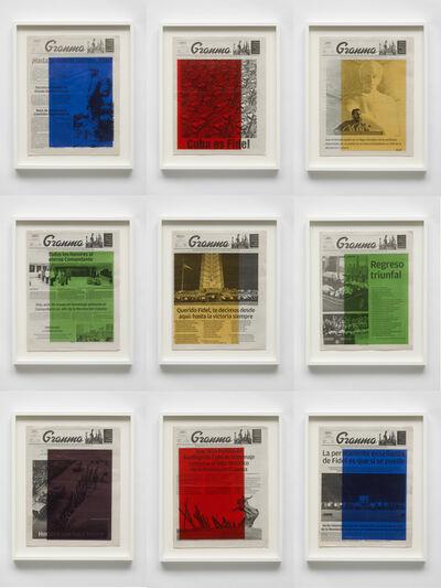 Marine Hugonnier, 'Art For Modern Architecture: Granma – Fidel Castro's Mourning. November 26,27,28,29,30 and December 1,2,3,4, 2016', 2018