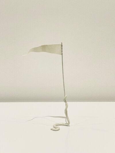 Eric Oglander, 'Worm Holding Flag', 2021