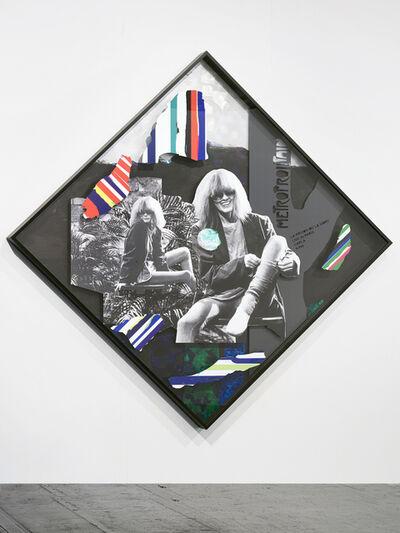 Lothar Hempel, 'Plakat (Metroprolitain)', 2016