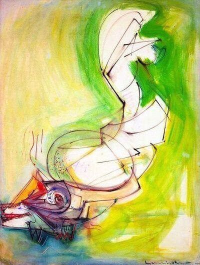 Hans Hofmann, 'Reclining Figure', 1942