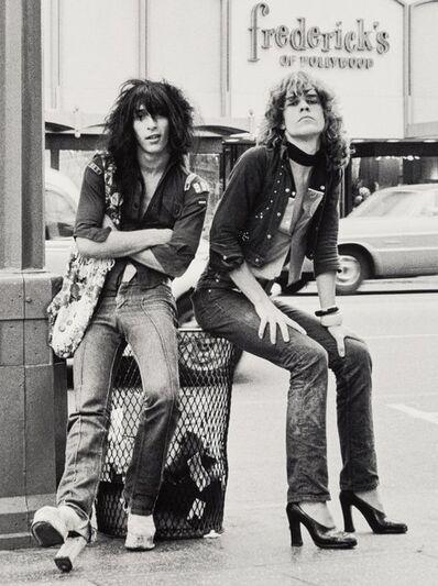 Bob Gruen, 'Johnny Thunder and David Johansen', 1973