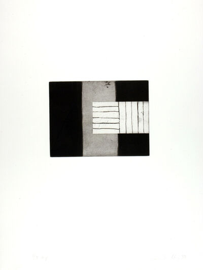 Sean Scully, 'She weeps over Rahoon', 1993