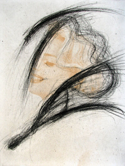 Arnulf Rainer, 'Neigerin', 2002
