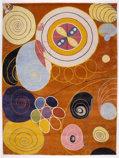 Hilma af Klint, 'Group IV, no 3. The Ten Largest, Youth', 2018