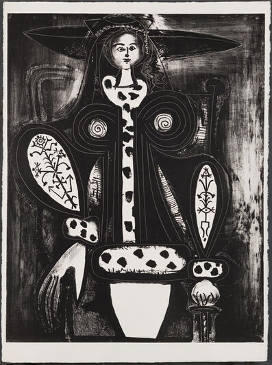 Pablo Picasso, 'Woman in Armchair', 1948