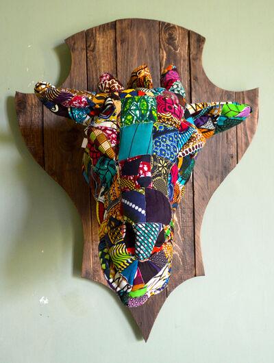 Louis Masai, '« Fauxdermy » - Hang your head - The giraffe', 2019