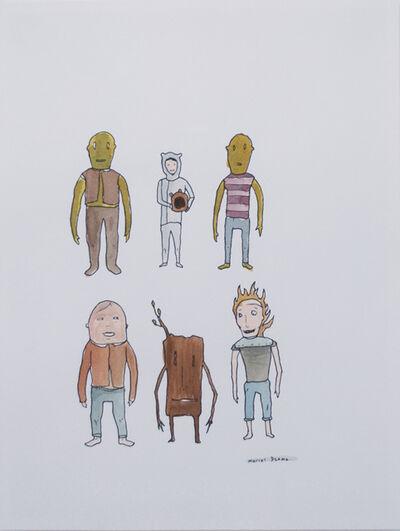 Marcel Dzama, '6 Figures', Unknown