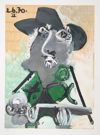 Pablo Picasso, 'Portrait d'Homme au Chapeau, 1970', 1979-1982
