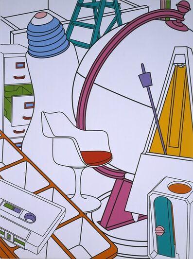 Michael Craig-Martin, 'Inhale (white)', 2002