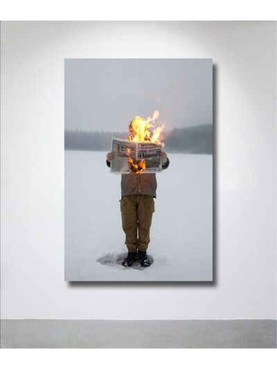 Tim Parchikov, 'Burning news', 2011