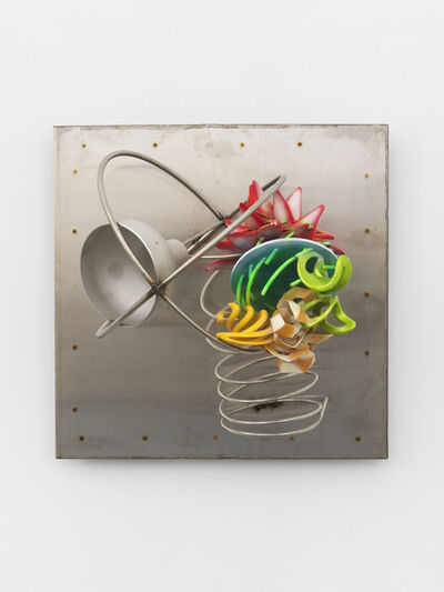 Frank Stella, 'Bell Piece on Stainless Background', 2017
