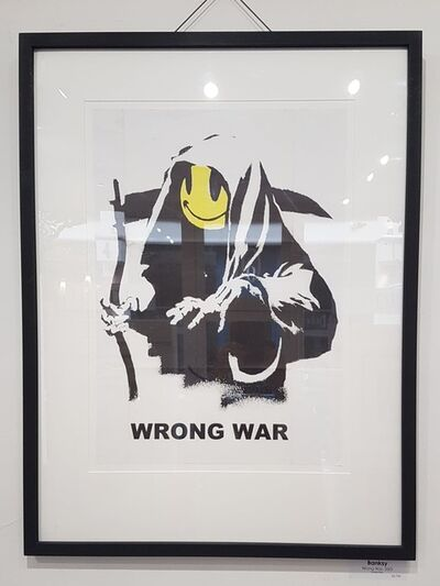 Banksy, 'Wrong War', 2003