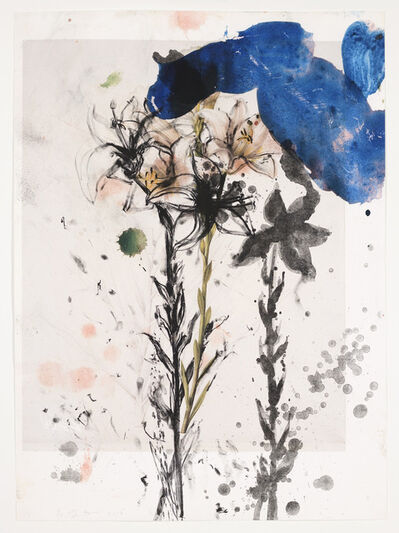 Jim Dine, 'Lily, July - 1st Version', 2010