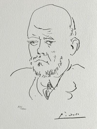 Pablo Picasso, 'Ambroise Vollard (Suite Vollard Planche C)', 1973