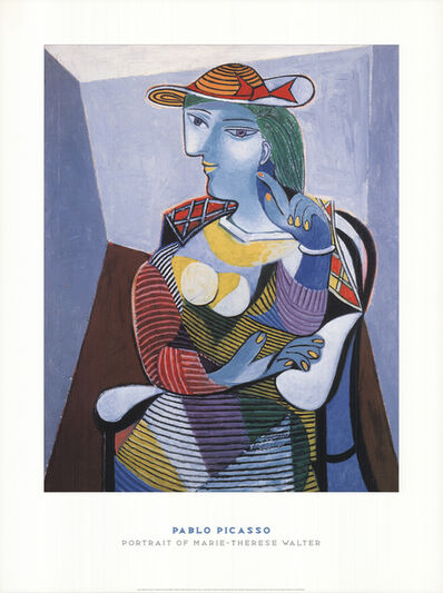 Pablo Picasso, 'Portrait of Marie Therese', 1998
