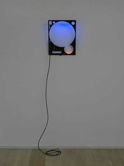 Haroon Mirza, 'LED Circuit Composition 24 (GMT)', 2016