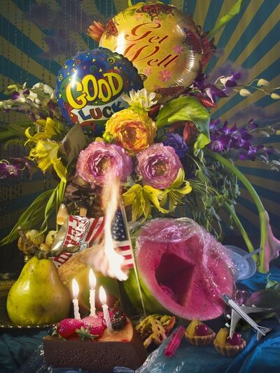 David LaChapelle, 'America Flower', 2011