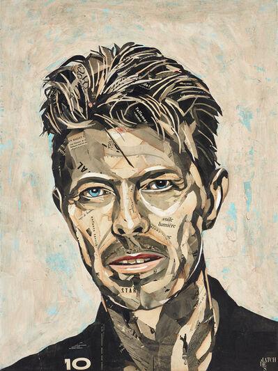 Pedro García Villegas, 'David Bowie III', 2019