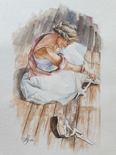 Natalie Papendieck, 'Ballet dancer', 2020