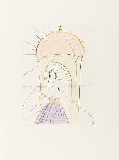 Salvador Dalí, 'The Museum of  Genius and Fancy (Field 74-8L; M&L 676d)', 1974