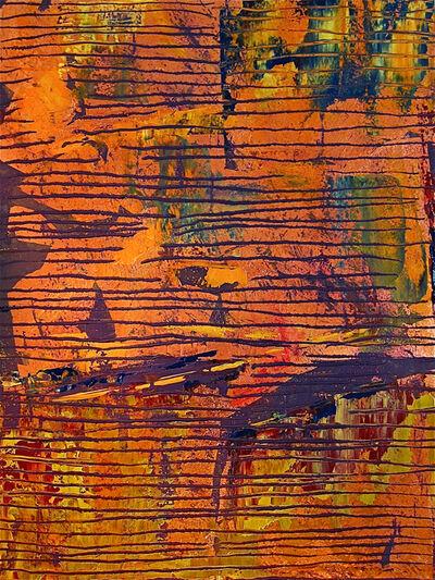 Frédéric Choisel, 'Composition in Orange', 2010