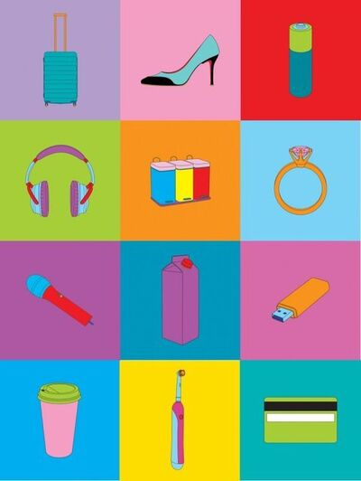 Michael Craig-Martin, 'Objects of Our Time', 2014