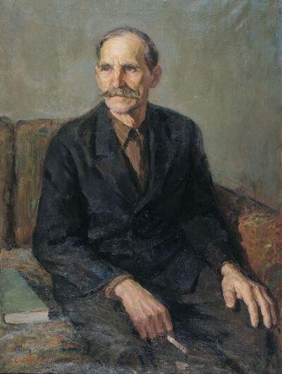 Mikhail Nikolaevich Sokolov, 'Portrait of a comrade', 1965