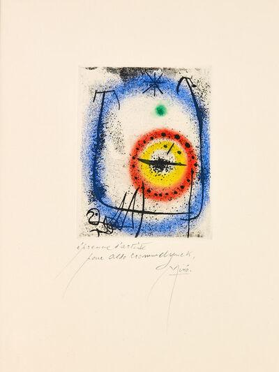 Joan Miró, 'Le Prophète', 1958