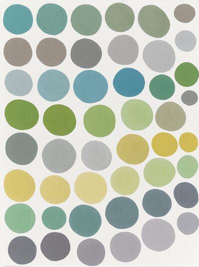 Maegan Hill-Carroll, 'Circles as Toes getting to Grey #51', 2018