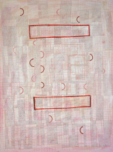 Donise English, 'Pink Grid', 2018