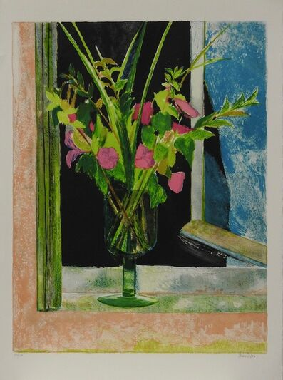 Guy Bardone, 'Nature morte rose et noir', 1985