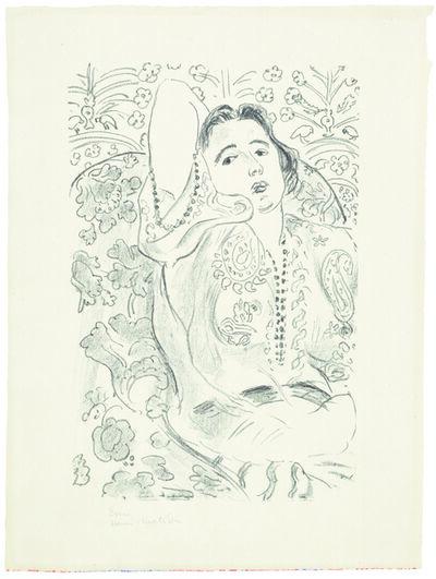 Henri Matisse, 'Arabesque', 1924
