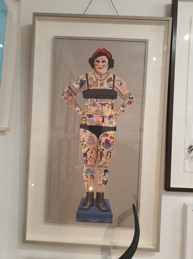 Peter Blake, 'Tiny Tina - The Tattooed Lady', 2018