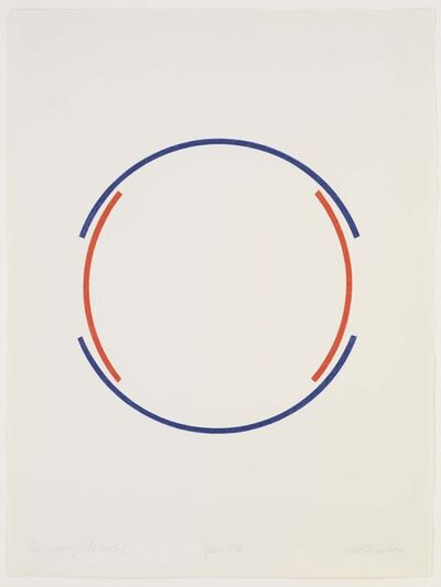 Stephen Antonakos, 'Two Incomplete Circles', 1976