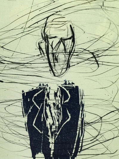 Susan Rothenberg, 'Breath-Man', 1986