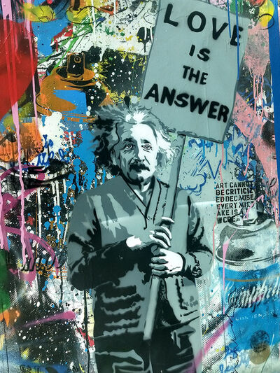Mr. Brainwash, 'Albert Einstein', 2018