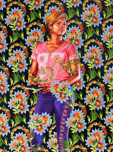 Kehinde Wiley, 'Mary, Lady Guilford', 2019