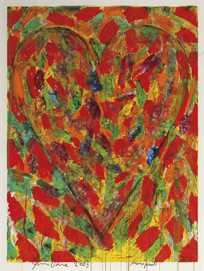 Jim Dine, 'Printing and Dancing XVIII', 2003
