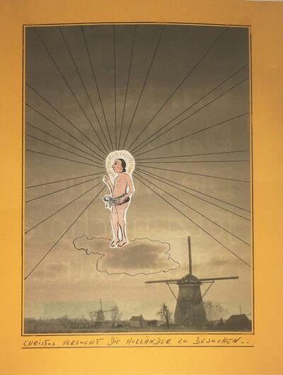 Werner Büttner, 'Christus versucht die Holländer zu besuchen...', 2000