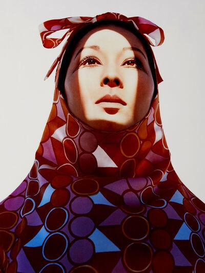 Hiro, 'Akiko in Rudi Gernreich Sheath, India', 1966