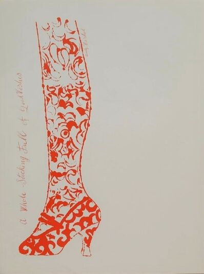 Andy Warhol, 'A Whole Stocking Full  of Good Wishes', 1956