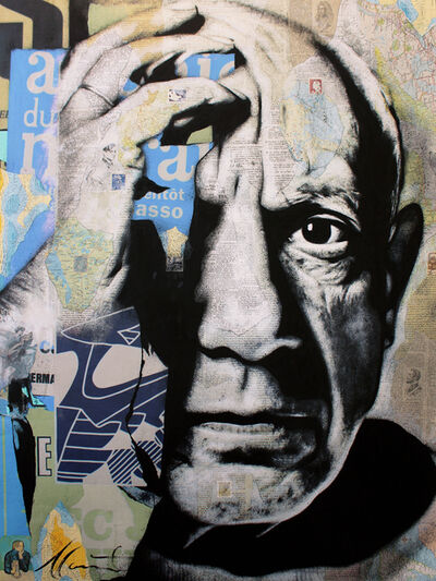 André Monet, 'Picasso', 2019