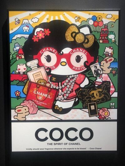 Sean Danconia, 'Ohaiyo Kyoto, Kitty Coco', 2018