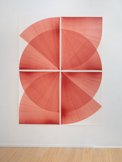 Thomas Trum, 'Two Red Lines', 2020