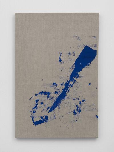 Addie Wagenknecht, 'self portrait- legs spread # 2', 2017