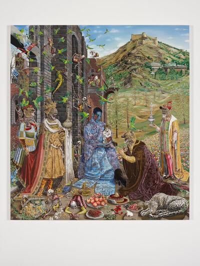 Raqib Shaw, 'The Adoration (After Jan Gossaert)'
