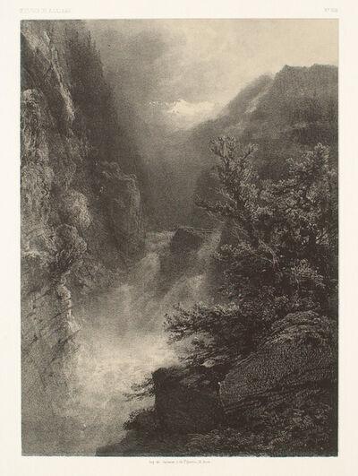 Alexandre Calame, 'Landscape', 1855