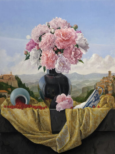 James Aponovich, 'Still Life with Peonies', 2018