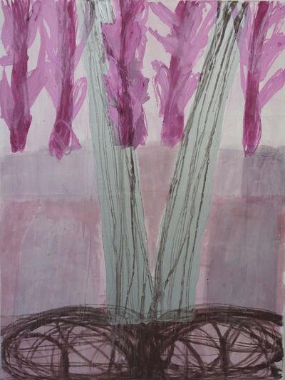 Robert Solomon, 'tree in meadow', 2018